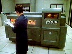 The WOPR comuter from the movie, Wargames is going up for sale... Uhhh.... Gimme?! Imsai.net/movies