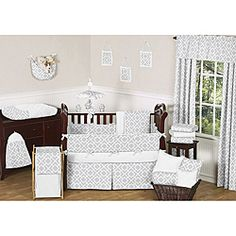 Bedding I ordered for Baby! I'll add pink or blue accents after the baby is born since we are waiting to find out!