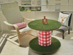 25 Cable spool furniture ideas - Home Decor | LittlePieceOfMe