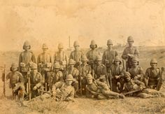 Regulars and Volunteers in the Boer War - British Empire Soldiers