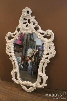 Witte barok spiegel
