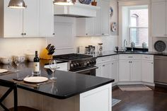 Soapstone sinks and kitchen countertops offer a great option for kitchens. See some advantages, disadvantages and picture ideas here Soapstone Countertops, Soapstone Kitchen, Kitchen Countertops, Kitchen Cabinets, Digital Fabrication, Stone Tiles, Interior Design Kitchen, Furniture, Pictures