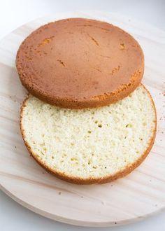Snelle vanille cakes voor stapeltaart