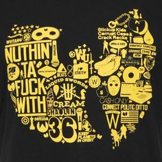 T-shirt Wu-Tang - Diagram Tee Diagram wutang Wu Tang Clan Logo, Love And Hip, Hip Hop And R&b, Wu Tang Songs, Wu Tang Tattoo, Japanese Tattoo Art, Hip Hop Art, Graffiti Lettering, Tattoo Ideas