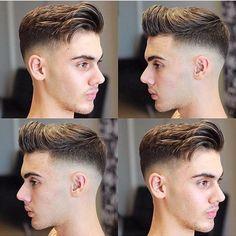 The latest trend of fashionable hairstyles for boys or Der neueste trend modische frisuren jungs oder männer fashionable hairstyles for boys or men - Young Mens Hairstyles, Classic Hairstyles, Hairstyles Haircuts, Trendy Hairstyles, Beard Styles For Men, Hair And Beard Styles, Cool Haircuts, Haircuts For Men, Barber Haircuts