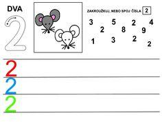 Čísla - pracovní listy Kids Learning Activities, Playing Cards, Math Equations, School Ideas, Early Education, Activities, Infant Learning Activities, Numbers Preschool, Autism