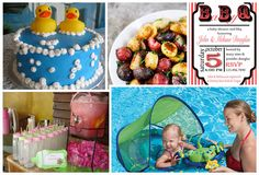 Poolside Baby Shower Gifts and Ideas #babyshower