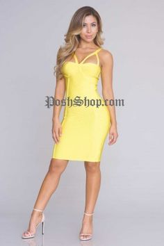 Mallory Bandage Dress