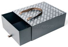 Luxury Pull Out Custom Extensive Made Paper Shoe Box Packaging Drawer Box
