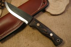 Custom Bushcraft Knife - Huntsman model - Python canvas micarta - Customize your own knife #custom #knife #survival #camping #hiking #bushcraft  #backpacking #hunting #outdoors #fishing