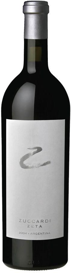 """Zeta"" 87% Malbec / 13% Cabernet Sauvignon 2010  - Zuccardi Wines, San Carlos, Mendoza --------------------------------- Terroir: La Consulta (San Carlos) & Gualtallary (Tupungato) - Mendoza, Argentina -----------------Crianza: 12 meses en barricas de roble francés"