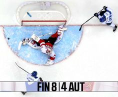 2 goals and an assist for Granlund in Finland's 8-4 victory over Austria! #mnwildinSochi