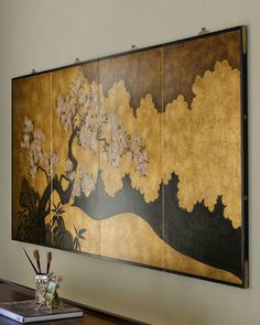 Asian Home Decor truly eye-popping plans 1619571678 - Attractive styling decor strategies to arrange a wonderfully charming and dazzling styling. Japanese Wall Art, Japanese Home Decor, Japanese Interior Design, Asian Home Decor, Asian Design, Diy Home Decor, Japanese Screen, Japanese Style, Asian Wall Art