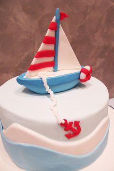 sailboat cake!