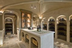 1000 images about wine cellar on pinterest wine cellar wine rooms and haus - Deco wijnkelder ...
