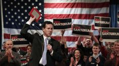 Republican presidential candidate, former Pennsylvania Sen. Rick Santorum addresses supporters during a campaign rally in Bellevue, Wis. Presidential Candidates, East Baton Rouge Parish, Pick Up, Louisiana, Politics, Fox, News, Pennsylvania