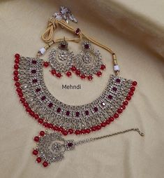Jewelry OFF! Indian Bridal Jewelry Sets, Wedding Jewelry Sets, Bridal Jewellery, Wedding Accessories, Hair Accessories, Fancy Jewellery, Designer Jewellery, Diamond Jewellery, Pearl Jewelry