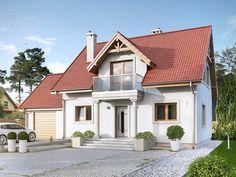 Projekt Azalia 4 (121 m2). Pełna prezentacja projektu znajduje się na stronie: https://www.domywstylu.pl/projekt-domu-azalia_4.php. #azalia4 #domy #projektydomow #dom #projekty #architektura #architecture #domywstylu #mtmstyl #realizacja