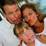 What a fun family! Great beach portraits by Island Photography. www.newislandphotography.com