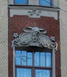 Совы Петербурга. Owls in St. Petersburg.: art_nouveau