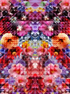 """""""Crystal Floral"""" by Patternpeople"""