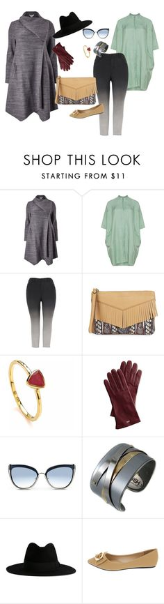 """Outfit #4"" by allieemet on Polyvore featuring Studio 8, Melissa McCarthy Seven7, Aimee Kestenberg, Dione London, Mark & Graham, Karl Lagerfeld, Porsche, Yves Saint Laurent and plus size clothing"