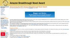 Amazon Breakthrough Novel Award: Deadline Jan 27, 2013 | TapBooks Blog | eBooks + Apps + Author SOS Services http://blog.tapbookspublishing.com/2013/01/amazon-breakthrough-novel-award.html#