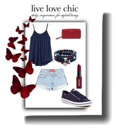 """""""Untitled #131"""" by saturn43210 on Polyvore featuring Gap, Keds, Dolan Bullock, NYX and Urban Originals"""