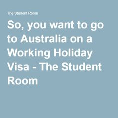 Question about student visa/holidays?