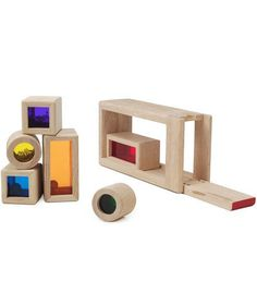 Rainbow Sound Blocks | Dozens of fun gifts that are sure to please the little ones. Find more great present ideas for everyone on your list here.