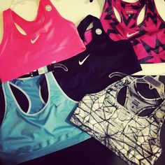 www.makesportsbetter Nike sports bras available in colors !