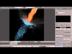 Create an energetic fire and water scene in Blender (1 of 4) - YouTube