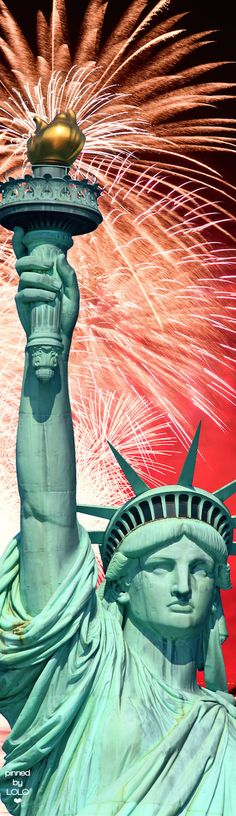Statue of Liberty 4th of July | LOLO❤︎