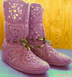 Iam going to make these to replace my ugg boots! so pretty!!