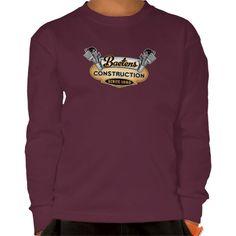 Baetens Construction Boys Long Sleeve T Shirt, Hoodie Sweatshirt