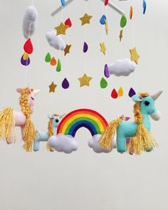Mobile Phone Accessories Beautiful Uvr Rainbow Unicorn Mobile Phone Stand Holder Animal Pegasus Finger Ring Mobile Holder Stand For Iphone Xiaomi Huawei All Phone