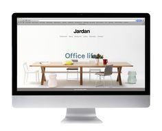 Jardan's new website, designed by Melbourne studio South South West.
