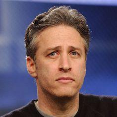 Jon Stewart is left handed