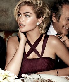Kate Upton photographed by Mario Testino, Vogue, June 2013.