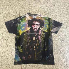 "62fa2cdad8ba Noom Vondonteen on Instagram  ""Original Vintage t shirt Jimmihandrix  Mosquitohead1980s Saze L 20x26 Condition  Like new   Good 9 10 PRICE 15"