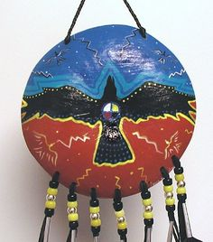 native american shields | protection feather shaman shield this ceremonial raven medicine shield ...