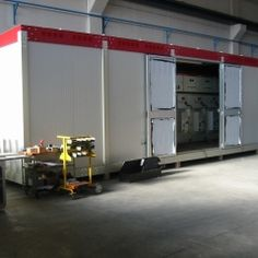 OTDS manufacture containerised prefabricated substations complete with MV & LV equipment in various configurations.