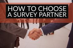 How To Choose A Survey Partner 5 questions to ask marketing and research agencies before hiring one to help create, execute and maximize customer or consumer surveys to fuel marketing content creation and campaigns. Questions To Ask, This Or That Questions, Consumer Survey, Inbound Marketing, Content, Create, Business, Store, Business Illustration