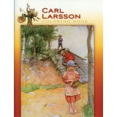 Carl Larsson Coloring Book - Swedish Books & Gifts Online – The Valley Troll