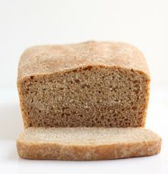 Whole Wheat Bread. I added the honey and baked this in a crockpot with good success! After the loaf is done, place in under the broiler until the top is crispy (mine took only about 3 minutes)