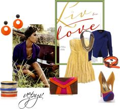 """To Africa"" by azaviki on Polyvore"
