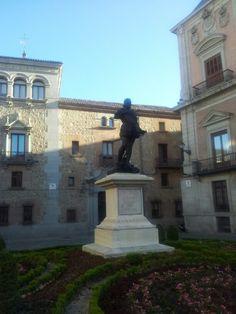 Álvaro de Bazán. Plaza de la Villa
