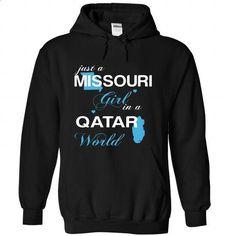 WorldBlue Missouri-Qatar Girl - #shirts for men #fitted shirts. MORE INFO => https://www.sunfrog.com//WorldBlue-Missouri-Qatar-Girl-3685-Black-Hoodie.html?60505