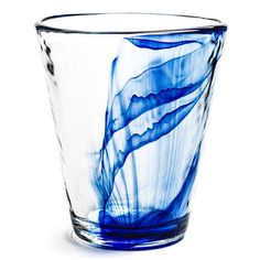 Shop Joss & Main for your Miley Tumbler. Features:Set includes 4 glassesMurano collectionColor: Clear and blueHand-made look with vibrant cobalt-blue swirlsHammered textureDishwasher safeCapacity: 14.