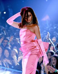 Camila Cabello Photos - Camila Cabello performs onstage during the 2018 iHeartRadio Music Awards which broadcasted live on TBS, TNT, and truTV at The Forum on March 2018 in Inglewood, California. - 2018 iHeartRadio Music Awards - Show Mtv Video Music Award, Music Awards, Music Videos, Fifth Harmony 2012, Havana, Women's Swim Tops, Shows, Swim Dress, Bikini Photos